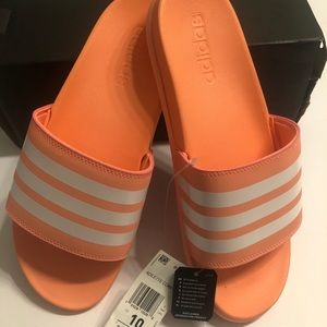 {Adidas} adilette coral slide sandal